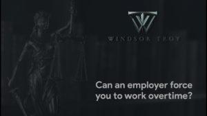 Employment Law - Windsor Troy Employment Lawyers